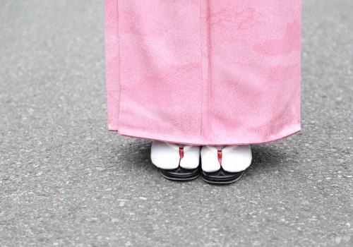 足袋を履いている人